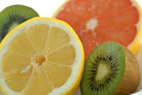Orange, Lemon and Kiwi